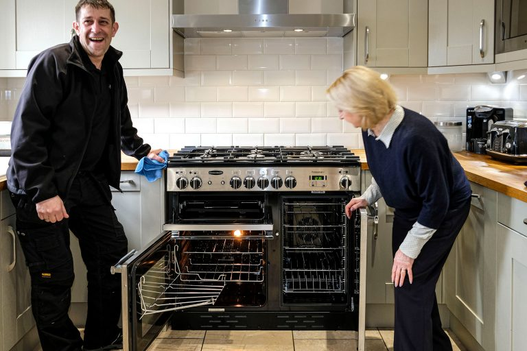 Professional oven cleaning service by local expert cleaning
