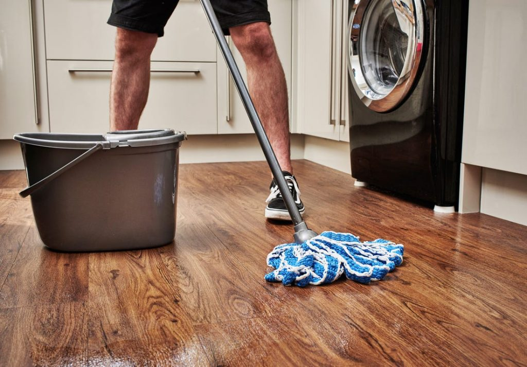 wooden floor cleaning by local expert cleaning