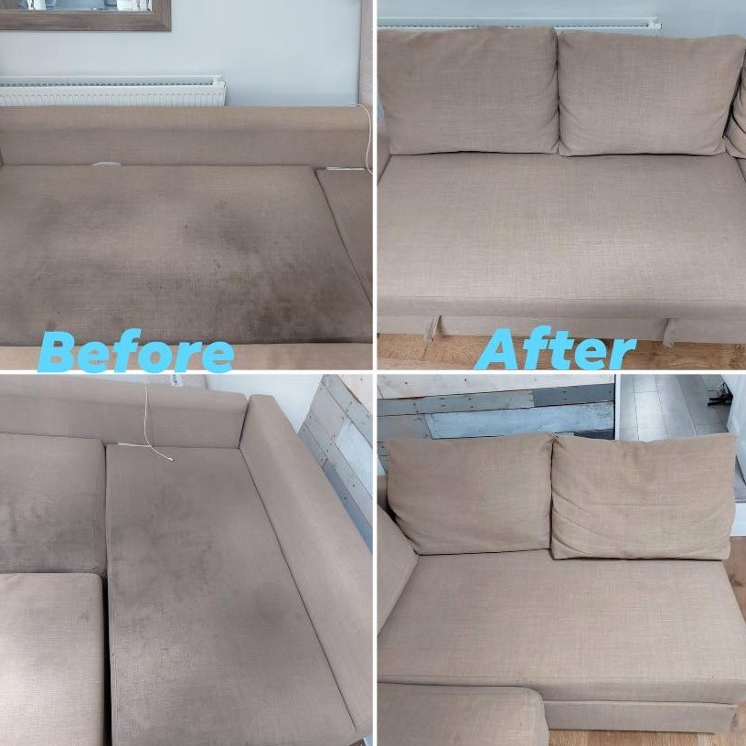 Upholstery sofa cleaning in Redditch and Bromsgrove