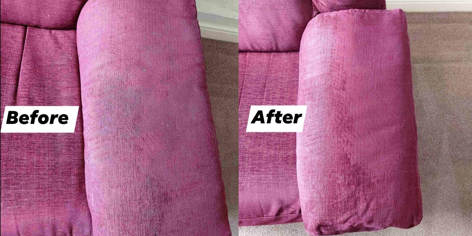 sofa upholstery cleaning service in Redditch and Bromsgrove