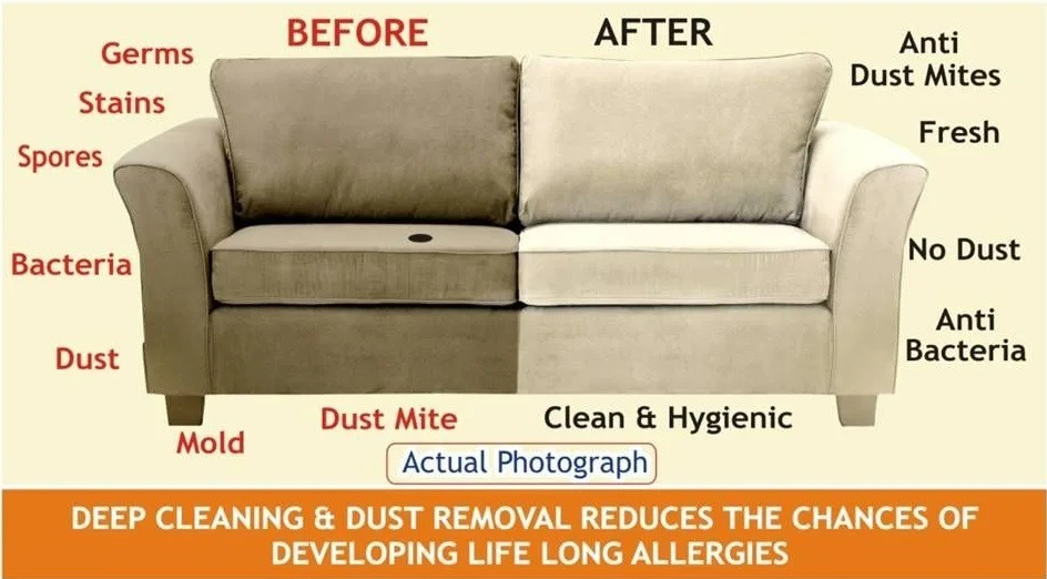upholstery cleaning by local expert cleaning
