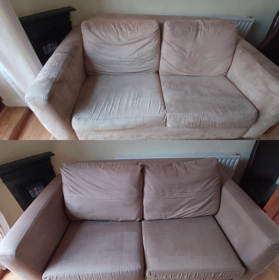 Upholstery cleaning service in Rubery