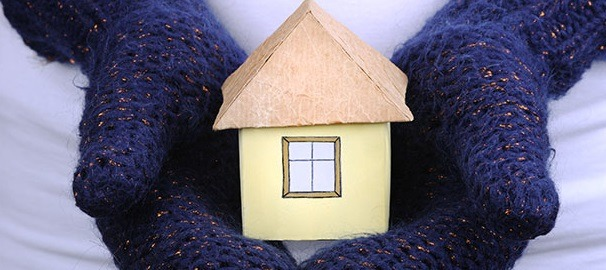 how to keep the house warm in winter