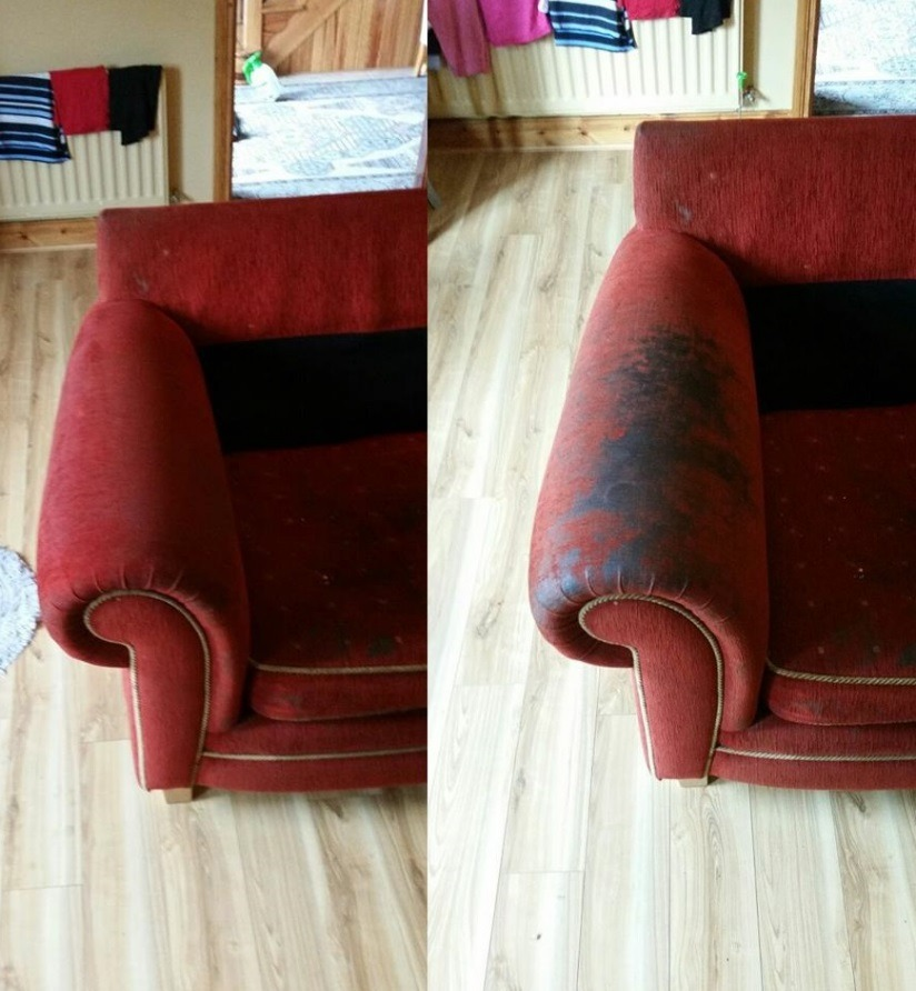 professional upholstery cleaning Northfield