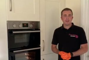 explain oven cleaning process